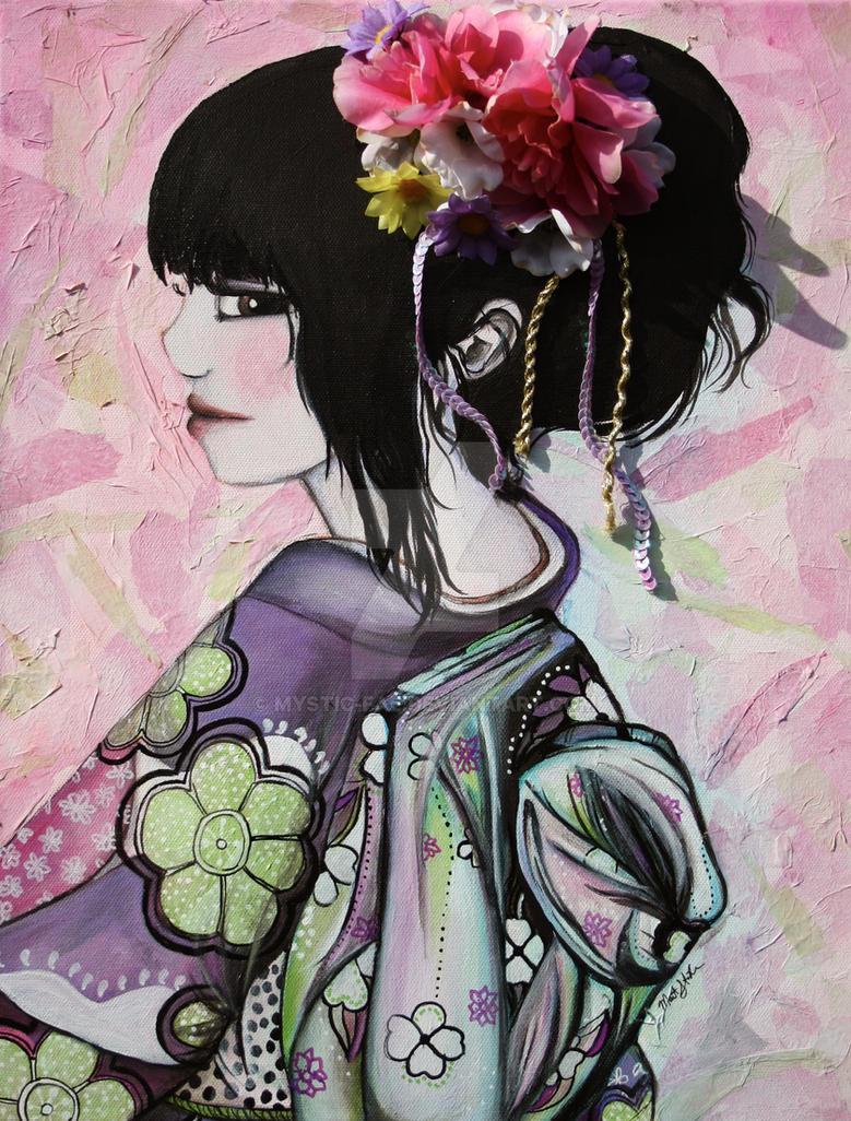 Sakura by mystic-fae
