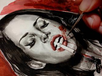 Lana Del Rey ULTRAVIOLENCE by TikoMeow