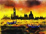 Venice in Loose Vibrant Watercolor