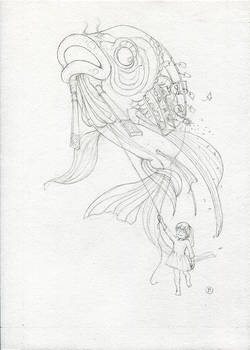 Floating Dreams (sketch)