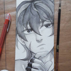 Keith ink painting - Voltron by Didules