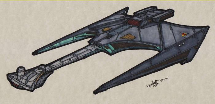 Klingon TOS Battlecruiser 00