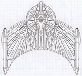 Romulan TMP Gallant-wing 00 by AtolmAzel