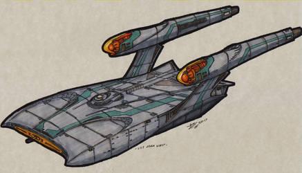 Federation USS Adam West 00