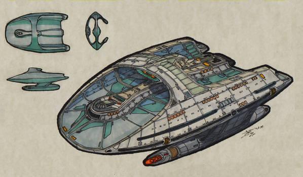 Federation Assiduous-Class USS Spyros Spyrou 00