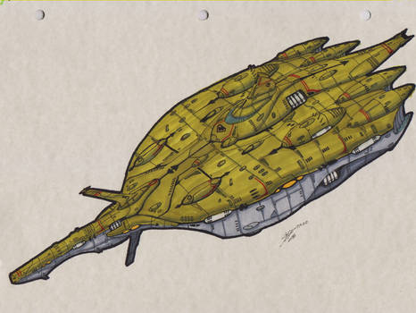Zentraedi Deep Space Expedition Cruiser 00