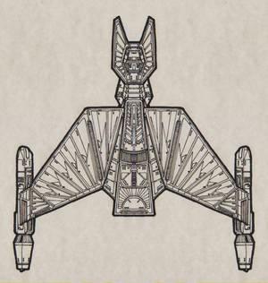 Klingon TNG Chava-Kal-Class Refit Assaultship 00