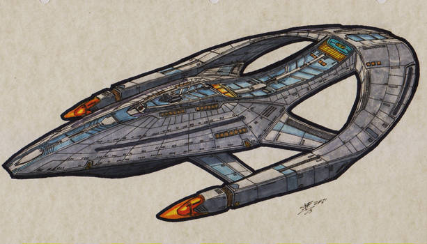 Federation Defender-Class USS Colin Luther Powell