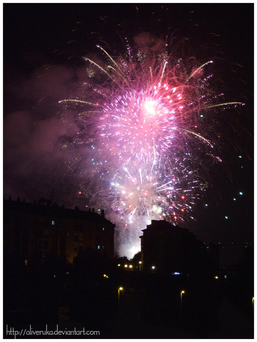 Fireworks series: 1 by aliveruka