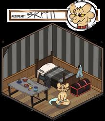 [Wyn] Skrill's cranny room