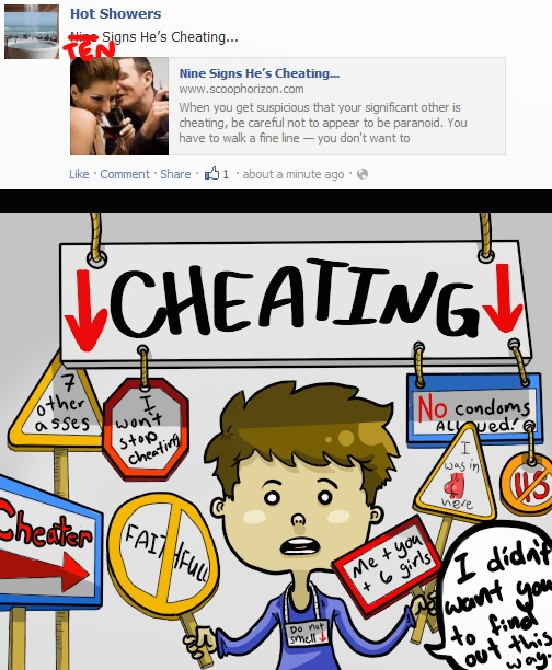 10 Signs of Cheating by graynate