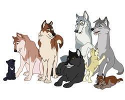 The Wolf Cast by Uzuri