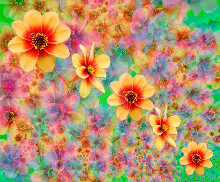 flowers fractal