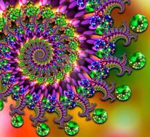 bokeh balls fractal