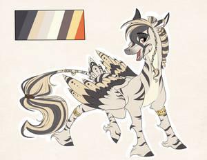 Custom: Zecora x Derpy by Marbola