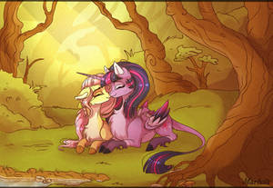 Forest kiss by Marbola