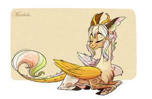 Comm: Princess Lumina by Marbola