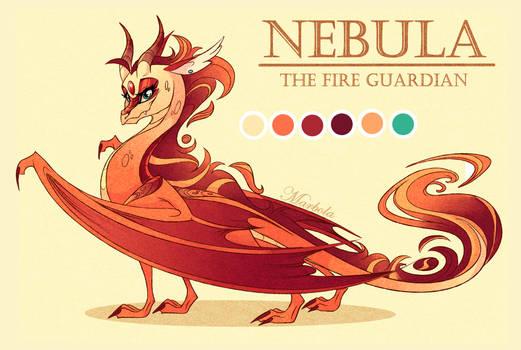 Nebula the fire guardian