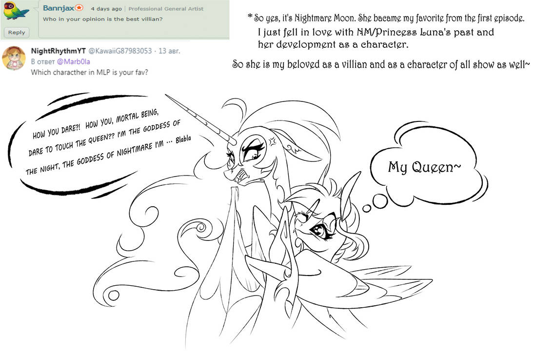 Answers and Questions 2 by Marbola on DeviantArt