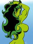 She-Hulk's Backside