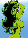 She-Hulk's Backside
