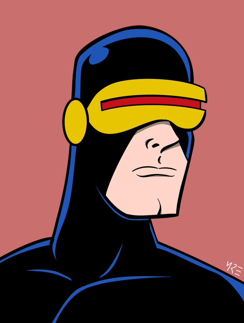 X-Men Portraits - Cyclops by MCRE1201