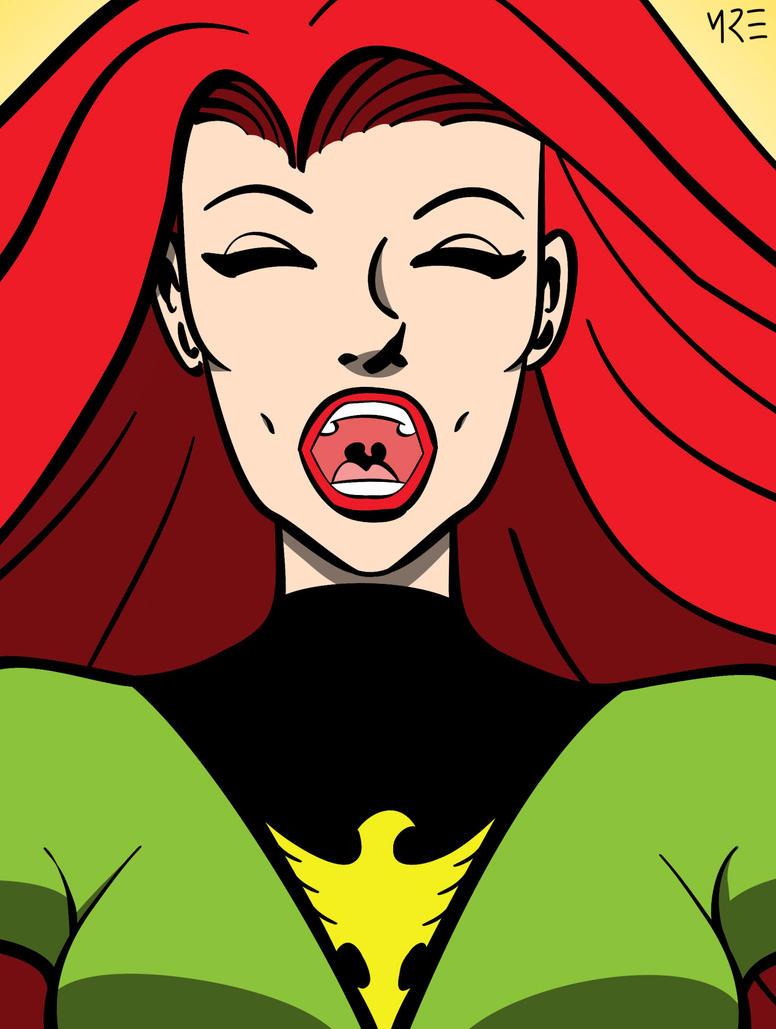 X-Men Portraits - Phoenix by MCRE1201