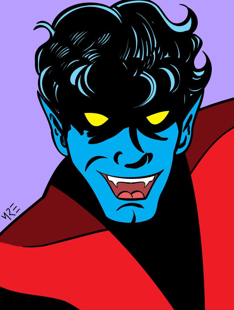 X-Men Portraits - Nightcrawler by MCRE1201