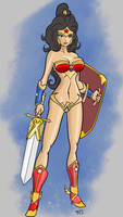Ultimate Ame-Comi Wonder Woman by MCRE1201