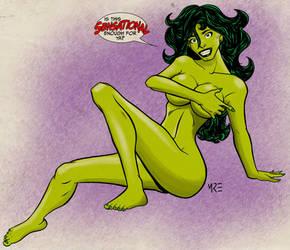 She-Hulk by MCRE1201