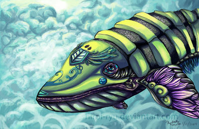 Sky Whale by shiroi-ryu