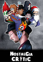 Nostalgia Critic DVD Contest Entry by ChaosWhite180