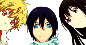 Yato, Yukine, Hiyori - Noragami Aragoto |Render|
