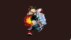 Bakugo - Midoriya - Todoroki|Boku no Hero Academia by noerulb