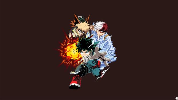 Bakugo - Midoriya - Todoroki|Boku no Hero Academia