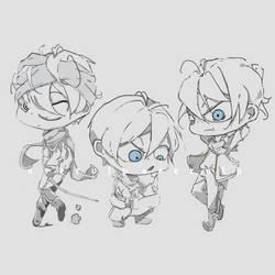 sketch| Yato - Noragami