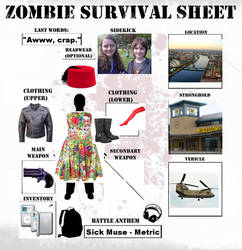 If Zombies Attack...meme