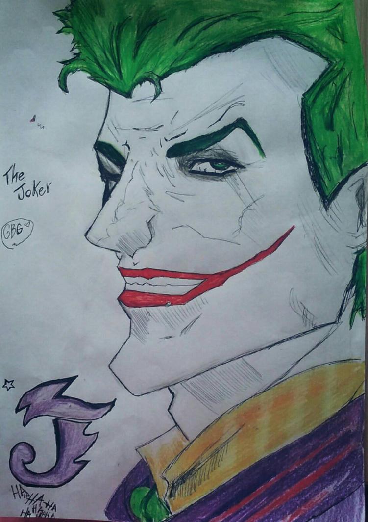 The Joker by GeliBubbleGum