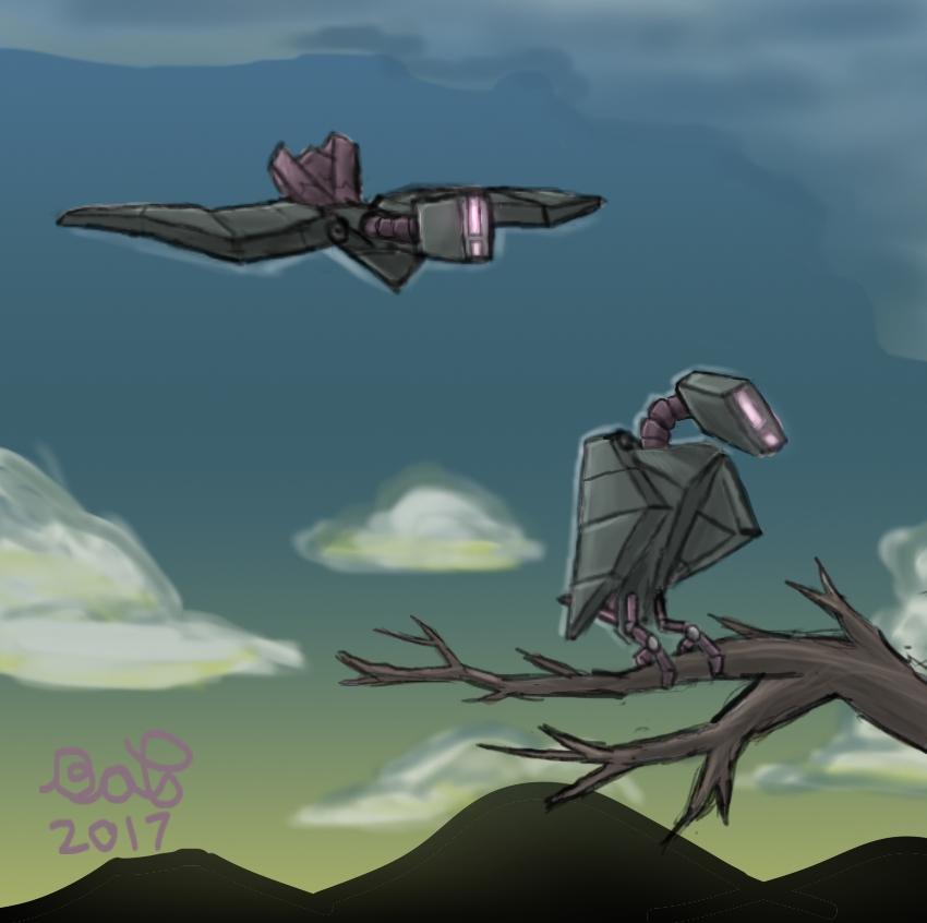 Robo Birbs by BradyPostma
