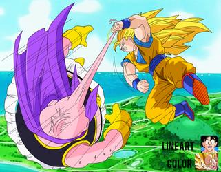 Goku Vs Majin Boo