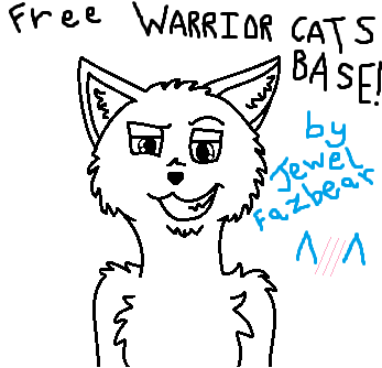 Warrior cats base FREE to use! :3 by Flippyisadorable