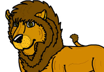 Lion Test (Made using Paint Tool Sai) by Flippyisadorable