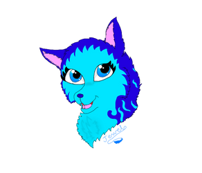 Jewel Headshot [Art Style Test] by Flippyisadorable