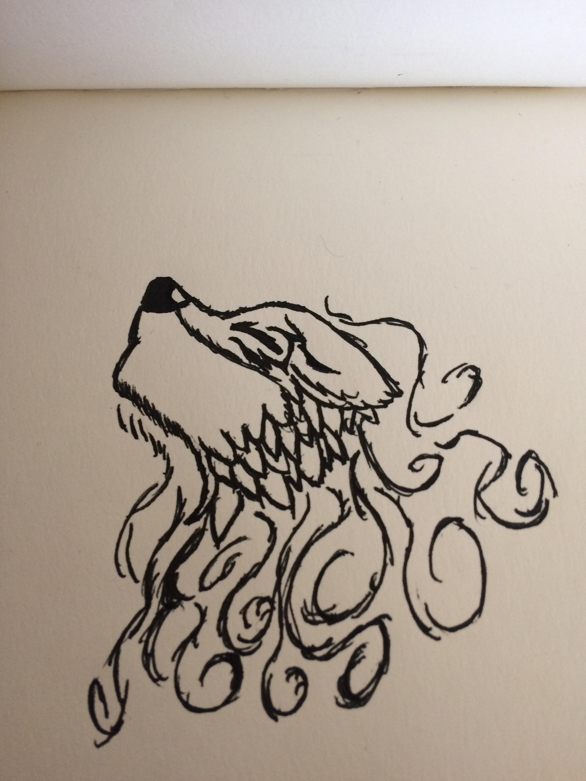 Fox Spirit by SKYsDRAWING