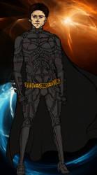The Dark Knight Colored WIP