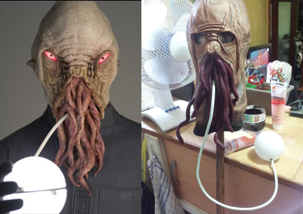 Ood Mask for Doctor Who 50th party by lapincyclope ... & Ood Mask for Doctor Who 50th party by lapincyclope on DeviantArt
