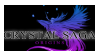 Crystal Saga Stamp by MagicFeral