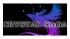 Crystal Saga Stamp by MagicFeral