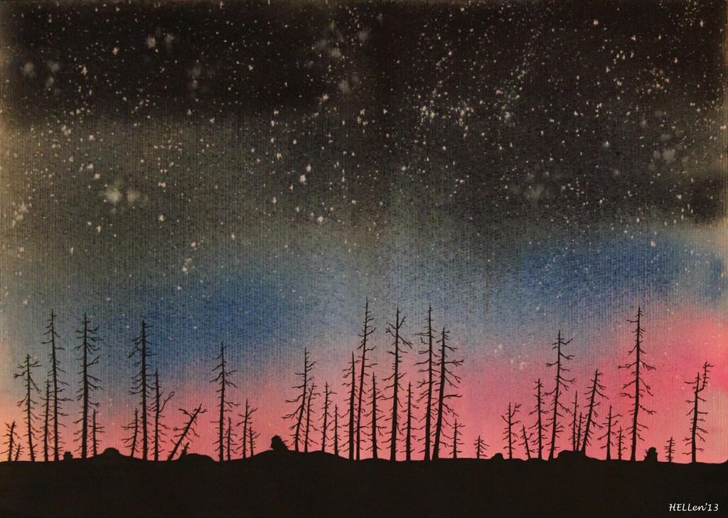 dark forest art dark forest by hellenmanson on deviantart