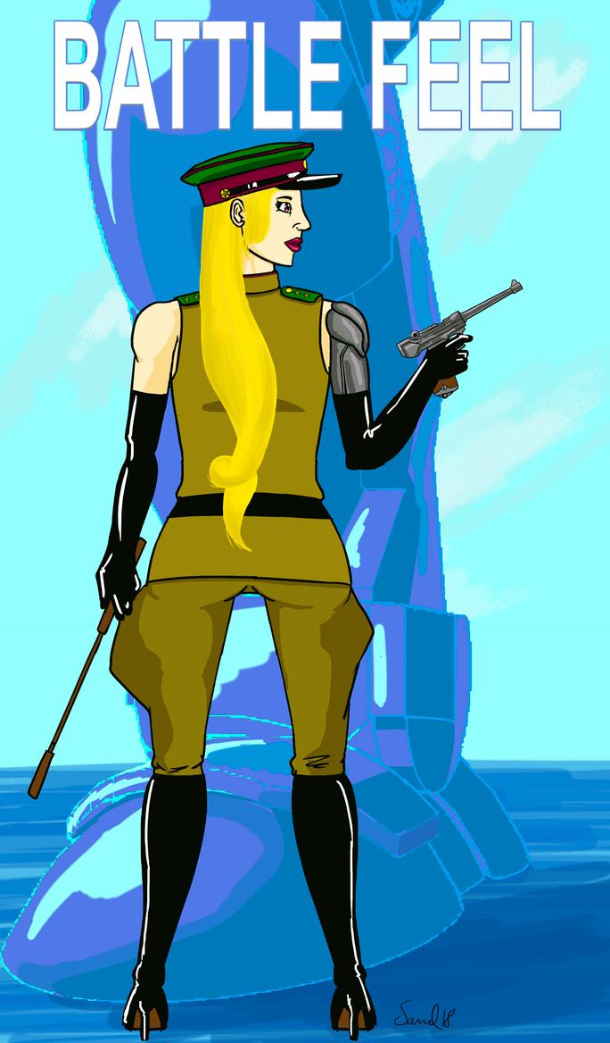 Illustration Battlefield V by zaceron